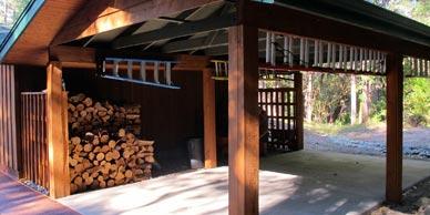 wood-carport